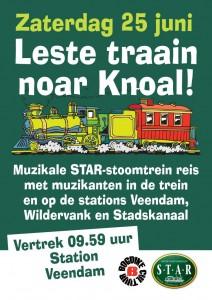 2 Leste Traain Noar Knoal poster