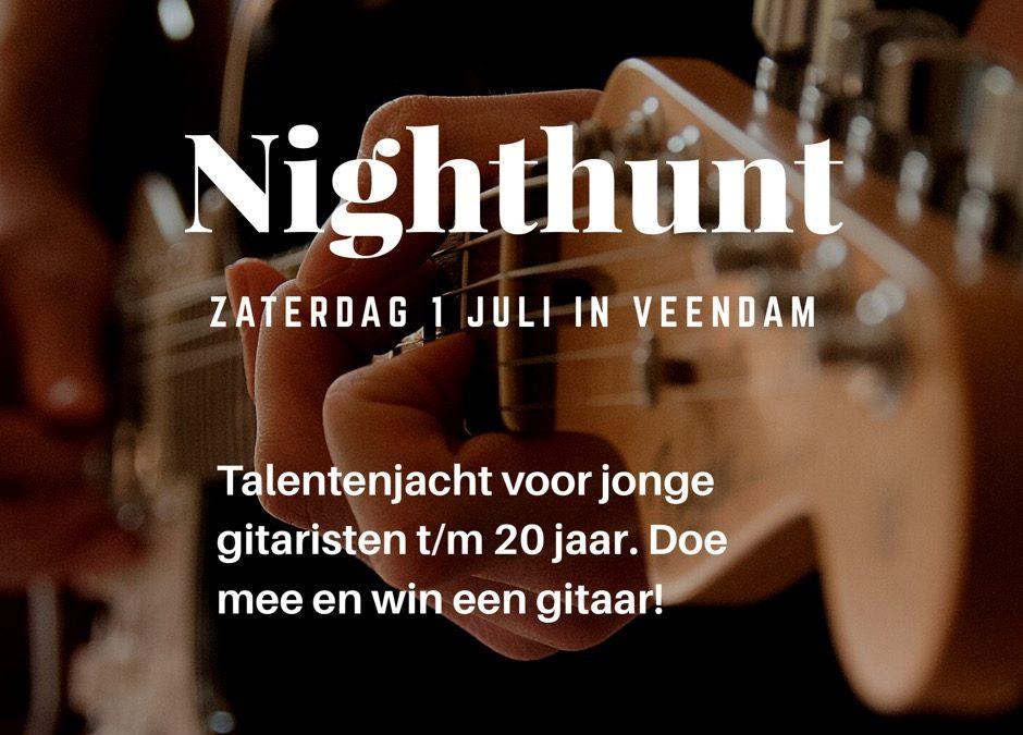 Jonge gitaristen gezocht voor NightHunt 2017