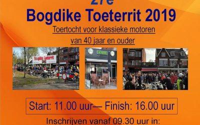 Bogdike Toeterrit op zaterdag 27 april 2019