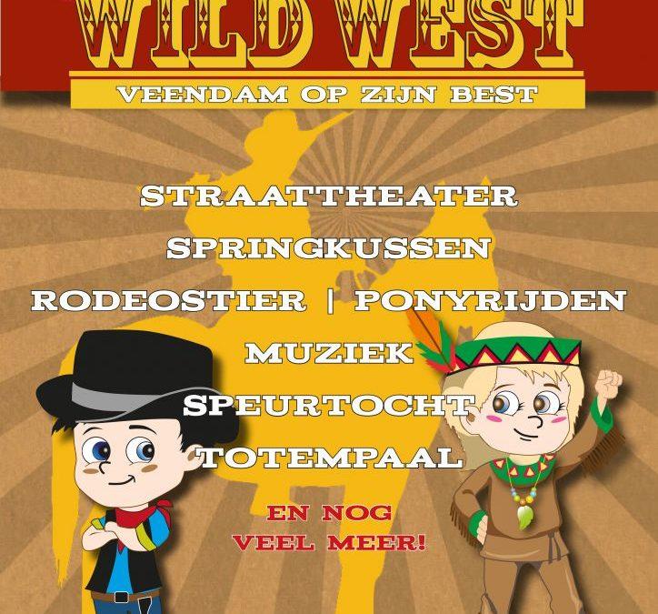 Zeg jij op zaterdag 8 september Oef of Howdy? Wild West, Veendam op zijn best!